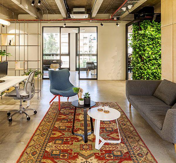 משרדי חברת הייטק בתל אביב